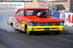 Greg Ventura says his goals for 2011 are to make the Summit E.T. Series Race of Champions as well, and to finish in the top three in the Southern California Pro Gas Association, and to win a NHRA National Event.