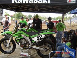 Bill Werner plans to include a new flat track team in 2010 with Jay Springsteen