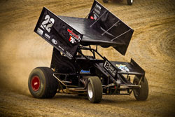 K&N sponsored Billy Alley finally got the mechanical gremlins off his back by notching his fifth career ASCS victory at I-80 Speedway.