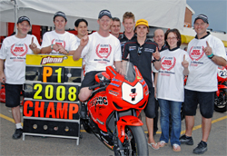 Team Teknic Honda Motologic wins at Eastern Creek International Raceway