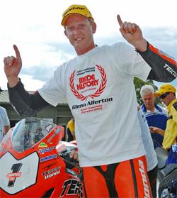 Australian Superbike Championship Rider Glenn Allerton