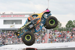 Ford Powered K&N Black Stallion Monster Truck. Photo by Dave Brown.
