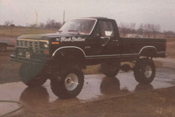 Michael Vaters' Ford F250 Pickup Truck