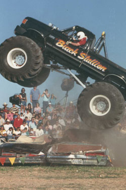 Michael Vaters and the Black Stallion Monster Truck