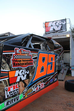 Blake Terry is engulfed in his second season of racing in the Dirt Open-wheeled Modified class.