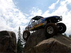 Difficult rock crawling courses got harder as the WE-ROCK Series progressed