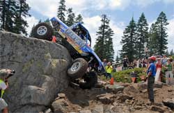 Team Lovell roared up the rock in WE-ROCK Series at Donner Ski Ranch in Northern California.