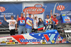 This Super Comp victory gave Bob Fuller his fourth NHRA National Event win