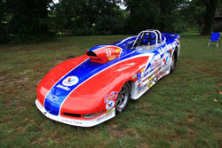 Team Fuller's NHRA National Event Winning Super Gas Corvette
