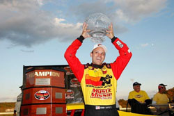 Last season the K&N sponsored driver was the NASCAR Whelen Modified Tour series champion.
