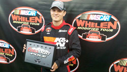 Whelen Modified Racer Bobby Santos trusts K&N products to get him into the winners circle