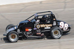 The 2010 NASCAR Whelen Modified Tour Champion says he thoroughly enjoys the power and the throttle control aspect of the racing Sprint Cars.