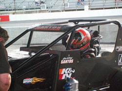 With his last two wins at Stafford, Santos jumped from 31 to eighth in the NWMT point standings.
