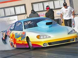 Maui Style at Auto Club Dragway in Fontana, courtesy of Bob Johnson Photography