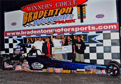 Bradenton Best of Both Worlds Winter Series Championship $10,000 windfall for sportsman racer Luke Bogacki, courtesy of BME Photography