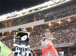 Hart and Huntington Honda Team at the Daytona Supercross in Florida
