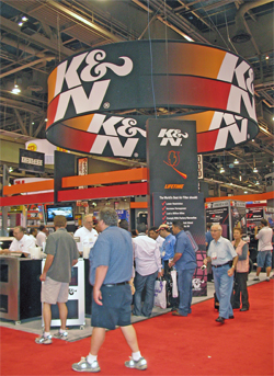 K&N SEMA Booth 2007