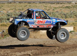 The general consensus was that three laps of the Ultra 4 Stampede was every bit as challenging as King of the Hammers.