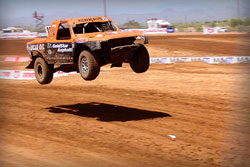 Bradley Morris earned a spot on the podium during rounds five and six of LOORS at Speed World, at Surprise, Arizona.