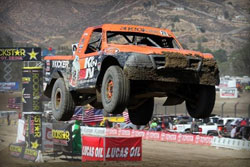 In Saturday's race Bradley Morris was in third place and moving forward before a snapped output shaft ended his Pro Lite chances.
