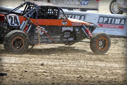 On Sunday Bradley Morris went toe-to-toe with the 2012 Pro Buggy champion for win.
