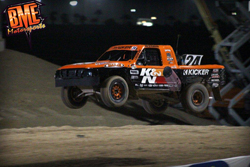 In his second Pro Lite race Bradley Morris endured a barrel roll in his truck, yet he still managed to bring in a 4th place finish