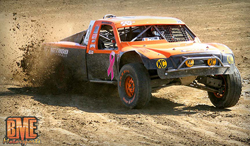 Along with racing Pro-buggies, Bradley Morris found time to compete in the Pro-2 and pro-4 classes of LOORRS.