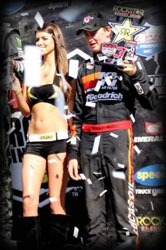 Morris is the first driver under the age of 16 to ever reach a podium finish in the Pro-Lite Class.