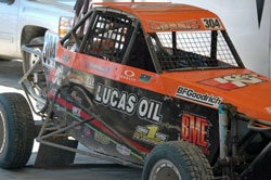 Two of Morris' goals for 2012 include winning Trophy Kart and Limited Buggy Championships.