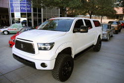 Brandon Wightman's simple, but awesome 2008 Toyota Tundra SEMA Show vehicle