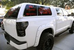 This 2008 Tundra not only looks great, but is funcitonal and equates to a great SEMA Show vehicle
