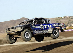 Chris Brandt, the 2009 LOORRS Driver of the Year qualified 1st in the Unlimited Buggy Class