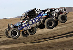 Some of the fastest drivers in short course off-road racing dueled for large cash purses in the Lucas Oil Off Road Racing Series Challenge Cup