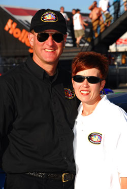 Champions on and off the track, Stock powerhouse couple Bill & Brenda Grubbs