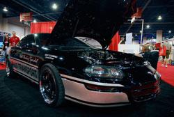 Schubring's 800 horsepower Camaro SS at SEMA