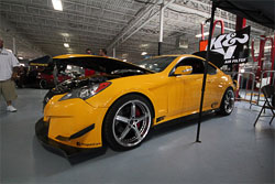 Brent Stafford's modified 2010 Hyundai Genesis Coupe is truely one of a kind.