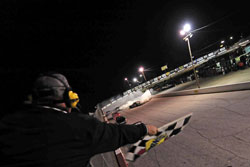 The last race of the 2012 K&N Pro Series East was filled with plenty of tire smoke