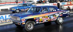 NHRA Super Stock Drag Racing's Brett Brown