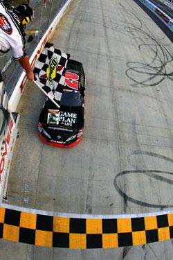 Brett Moffitt at NASCAR K&N Pro Series East race at Dover International Speedway