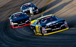 NASCAR K&N Pro Series Race Action at Iowa Speedway in Newton