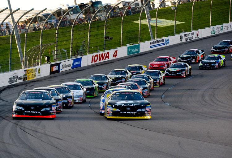 ... Moffitt Wins NASCAR K&N Pro Series Race at Iowa Speedway in Newton