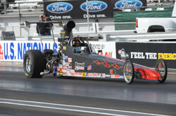 Drag Racer Brian Browell of Lafayette, Indiana