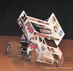 Brown normally runs the number 21 on his sprint car. Currently he's focused on running with The World of Outlaws.