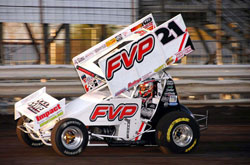 FVP #21 Sprint Car Driver Brian Brown