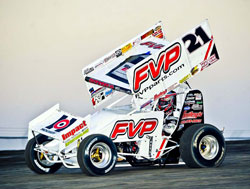 Sprint Car Racer Brian Brown