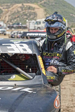 The third place finish at Speedworld Off-Road was Deegan's second podium appearance in just four career races in the Pro-2 class.