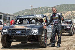 In a magnanimous move, Deegan offered his Pro-2 winnings to the Lucas Oil Off-Road Racing Series Chaplin.