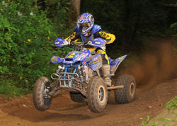 Hulsey has raced two-and-a-half years in the OMA Pro-ATV Nationals series.