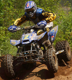 The K&N sponsored Pro-ATV rider has been on a tear, winning two of the first five races.