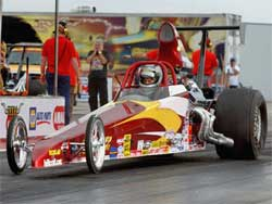 Brian Folk's Top Dragster triumph